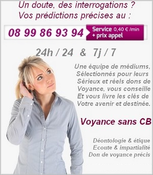 Voyance audiotel presentation 1